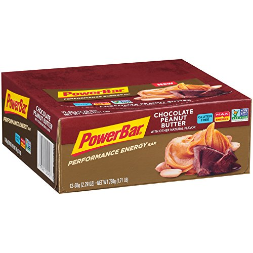 (PowerBar Performance Energy Bar Chocolate Peanut Butter, 12 Count)