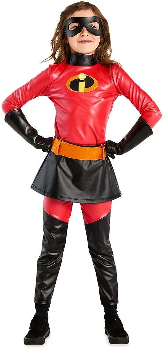 Disney Disfraz de Violeta niños – Increíble 2 Rojo Tamaño 9/10 ...