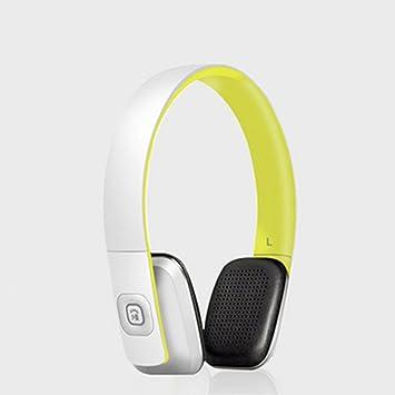 LQQAZY Auriculares Inalámbricos Portátil Control De Audio Juegos PC/Teléfono / TV Auriculares,FreshYellow: Amazon.es: Electrónica
