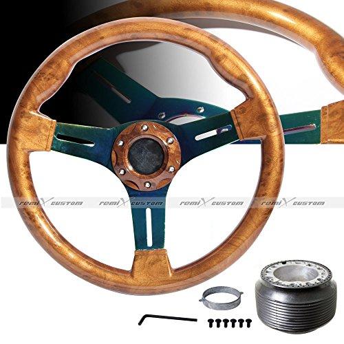 miata wood steering wheel - 1