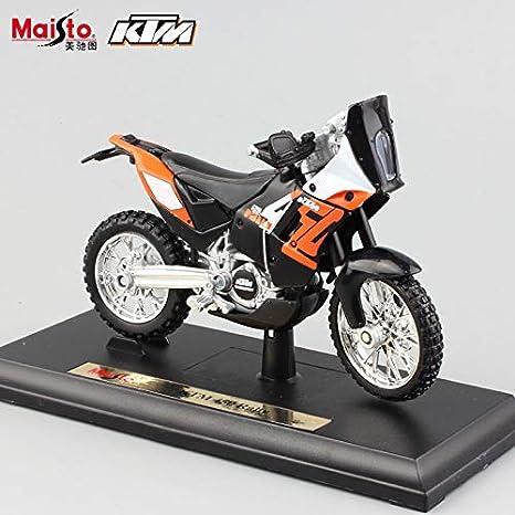 Amazon Com Greensun 1 18 Scale Small Motorcycle Ktm 450 Exc Rally