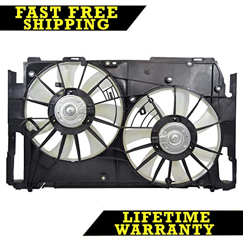 RADIATOR CONDENSER COOLING FAN FOR TOYOTA FITS RAV4 2.4 2.5 L4 TO3117102