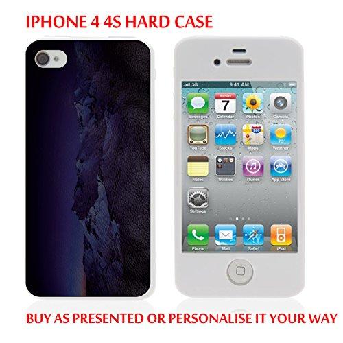 gc33_ iPh44s iPhone 44S Disk Tablet Case Montagna–Pelle Sintetica personalizzato tu scritta personalizzata fabbricati e vendidos por ThatVinylPlace