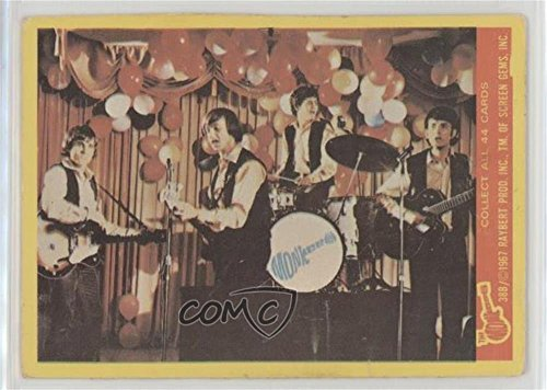 The Monkees Ungraded COMC Good to VG-EX (Trading Card) 1967 Donruss The Monkees Series B - [Base] #38B ()