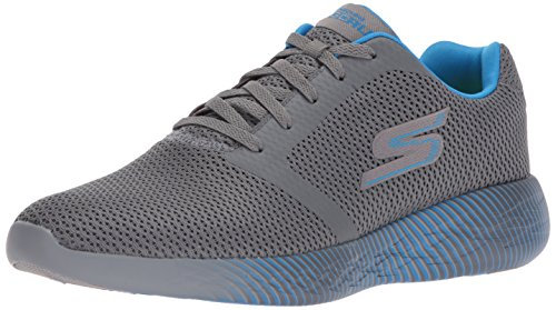 Skechers Performance Herren Go Run 600-Spectra Sneaker Holzkohle / Blau