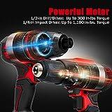 Forte Cordless Drill Combo Kit - 20V Max Drill