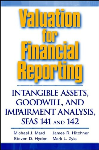 Valuation for Financial Reporting: Intangible Assets, Goodwill, and Impairment Analysis, SFAS 141 & 142