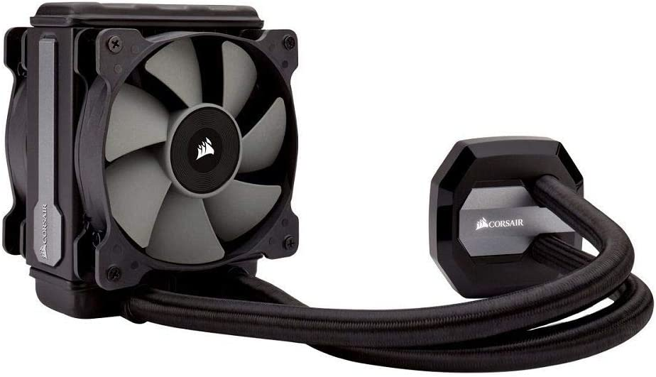Corsair Hydro Series H80i V2 - Sistema de Refrigeración Líquida (Radiador de 120 mm, un ventilador SP120 PWM, All-in-One Liquid CPU Cooler), Negro