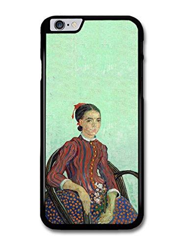 Vincent Van Gogh La Mousme Painting Artist Art Vintage case for iPhone 6 Plus 6S Plus