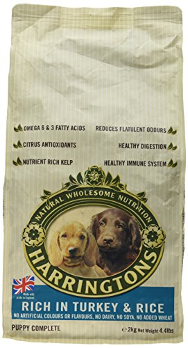 Harringtons Complete Dry Puppy Food Rich In Turkey And Rice, 2kg