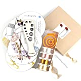 YoolaDesign Extended Beginners Crochet Kit - 6 Cd's Making Jewelry Tutorials in PDF and Video, Ergonomic Jewelry Looms Set, Wood Draw plate, Crochet Hook, Findings & Wires - Gift for Crochet lovers