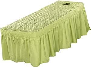 Lençóis de cama de salão de beleza para spa com tratamento
