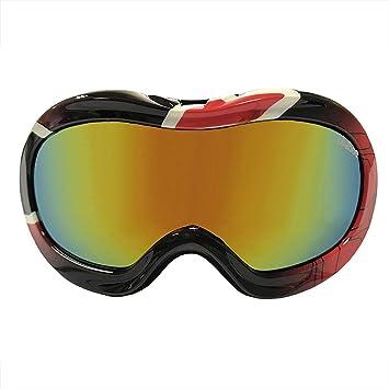 Tuotuo - Gafas de esquí para niños con monopatín de Nieve, Lente Desmontable y Lente