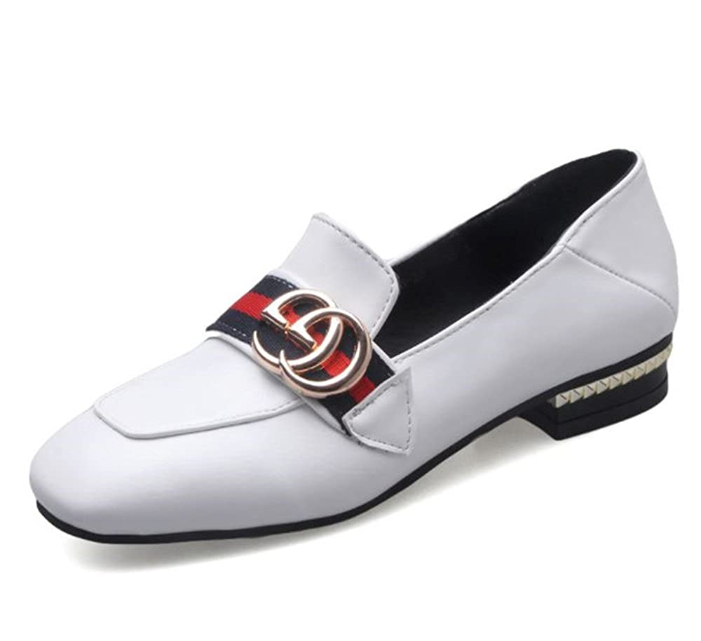 Womens Slip on Loafer Casual Low Flats Walking Sneakers Casual Oxford
