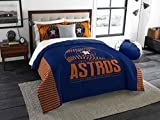The Northwest Company MLB Houston Astros King Comforter and Shams Set