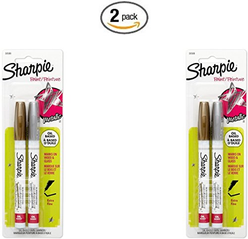 sharpie metallic 4 pack - 6