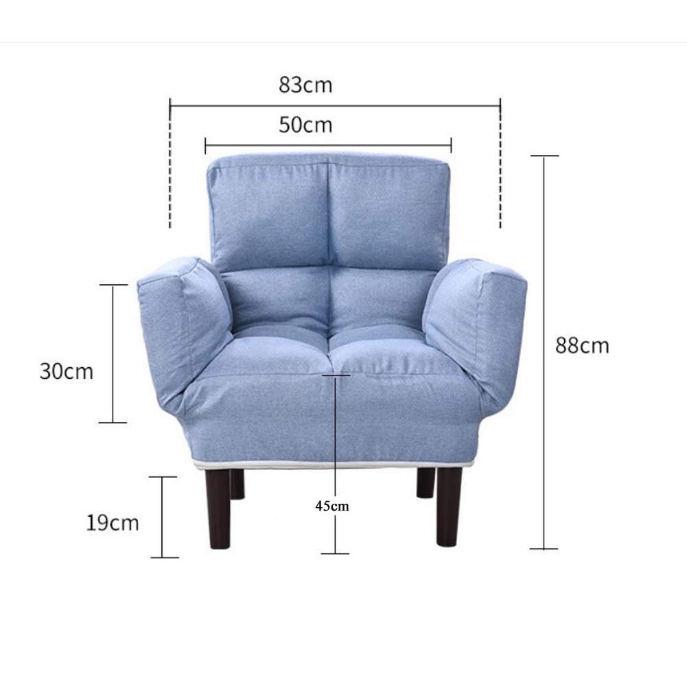 Amazon.com: Isa Cloth Sponge Single Lazy Foldable Couch ...
