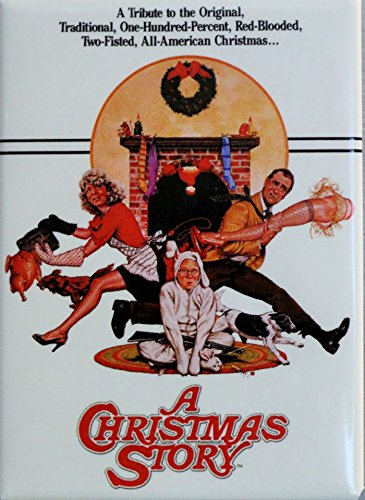 A Christmas Story - Movie Poster - Refrigerator Magnet