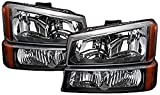 headlight assembly for chevy - RXMOTOR HL-CH912030BA 2003-2006 Chevy Silverado 1500 2500 3500 Headlight Replacement And Bumper Signal Lamps Assembly