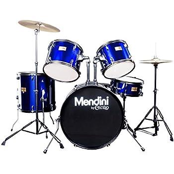 Amazon Com Drum Set Full Size Adult 5 Piece Complete
