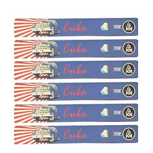 Cafe Joe USA Espresso Capsules, CUBA, Nespresso Original Compatible Pods, 10-Count Sleeves (Pack of 6)
