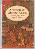 History of Western Music, Grout, Donald J., 0393094162