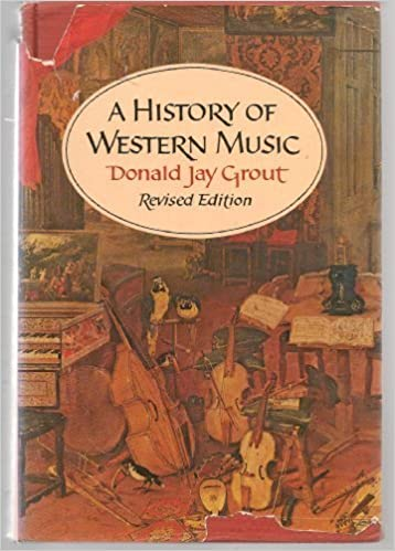 a history of western music revised edition