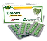 Natural Pain Relief Tablets By DOLOEX Effective for Migraines, Headaches, Back Pain, Toothaches & Menstrual Pain