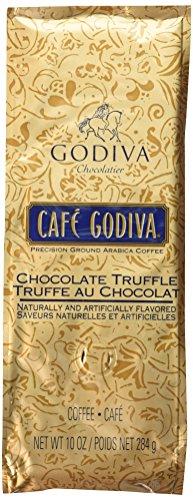 Café Godiva Chocolate Truffle Ground Coffee Two 10 oz. bags