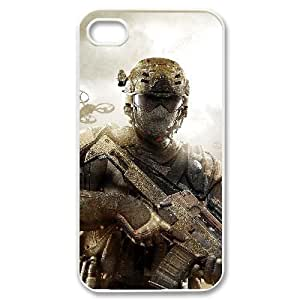 C-EUR Customized Print Call Of Duty Pattern Back Case for iPhone 4/4S