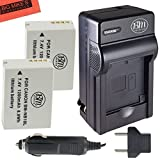 BM Premium (2 Pack) Of NB-10L Battery and Charger Kit for Canon PowerShot G15, G16, G1X, G3X, SX40 HS, SX40HS, SX50 HS, SX60 HS Digital Camera