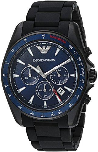 Emporio-Armani-Mens-AR6121-Sport-Black-Silicone-Watch