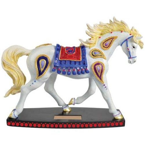 Westland Giftware Paisley Horse Arabian 6-1/4-Inch Resin Figurine by Westland Giftware