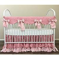 Shabby Chic Baby Bedding amazon com shabby chic crib bedding nursery bedding handmade