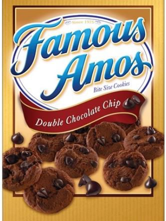Famous Cookie Recipes - Famous Amos Double Chocolate Chip Cookies (3 Oz. Bag, 6 Ct.)