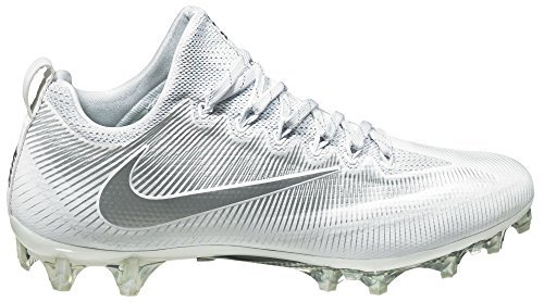 1b830e9f618 Galleon - Nike Men s Vapor Untouchable Pro Football Cleats(White Silver