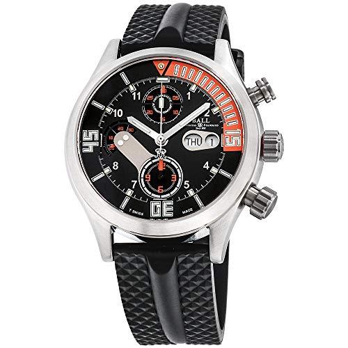 Ball Engineer Master II Black Dial Silicone Strap Men's Watch DC1028CP1JBKOR