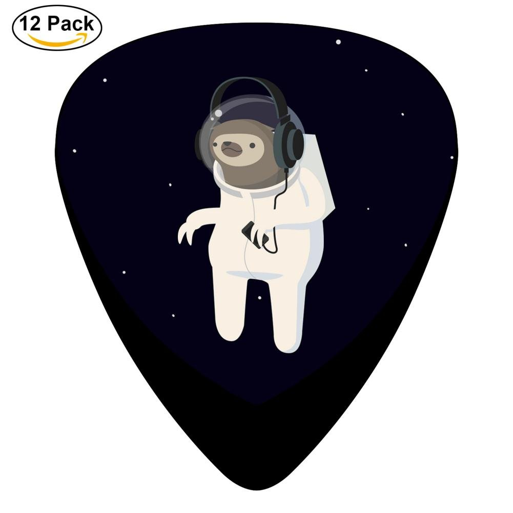 Amazon Sloth Astronaut Celluloid Guitar Picks Plectrums For
