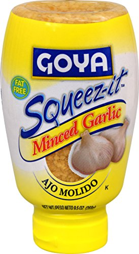 Goya Foods Squeeze Minced Garlic, 9.5 Ounce (pack of 12)