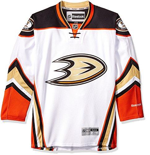 Anaheim Ducks Reebok NHL Premier White Road Jersey, Size: X-Large