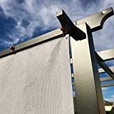 Alion Home Sun Shade Privacy Panel with Grommets