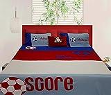BrightLinen Custom Sheet Set, Soccer