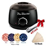 Wax Warmer Home Hair Removal kit,Electric Heater Machine hot waxing melts...