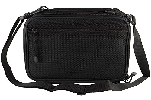 ChillMED Elite Diabetic Insulin Cooler Bag Travel Case with Two 6oz Cold Packs (Burgundy) 10'' x 7'' x 3'' by ChillMED (Image #4)
