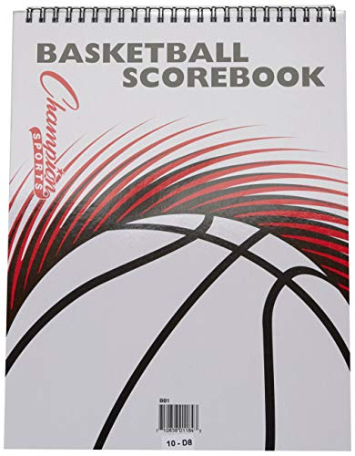 Amazon.com: Champion Sports espiral Baloncesto scorebook ...