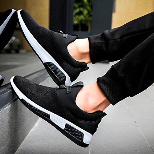 Scarpe Ginnastica Donna Running Uomo Tennis Basse Sneakers da UOMOGO Bianca Scarpe Foundation tTqawXX