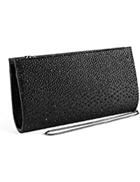Women Rhinestone Frosted Evening Bag Clutch Bag Formal Party Clutches Wedding Purses