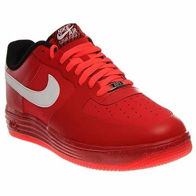be5e4c49d872 Nike  629970-600  Lunar Force 1 NS Premium Mens Sneakers NIKEUNIVERSITY RED