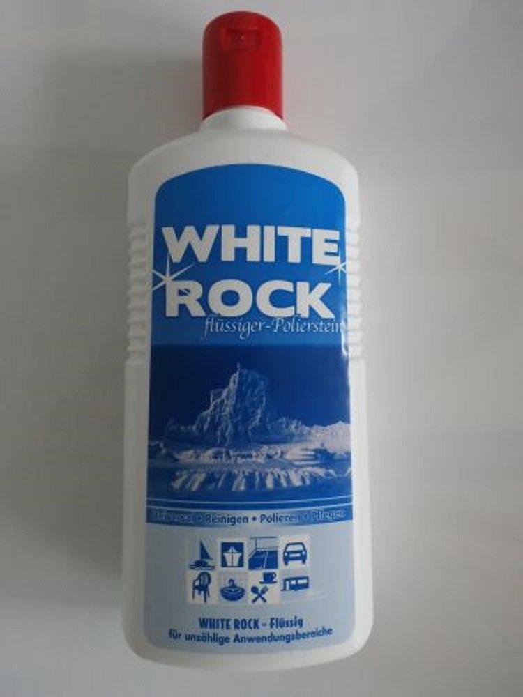 2x White Rock líquido limpiador para pulir piedra 700 ml ...