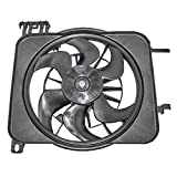 Radiator Cooling Fan Motor Assembly Replacement for Chevrolet Pontiac 22136897 by AUTOANDART
